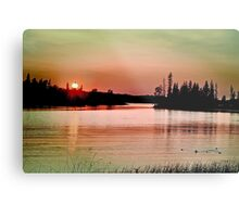 Caddy Lake, Whiteshell Provincial Park, Manitoba Metal Print