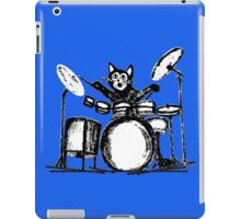 Drummer Cat iPad Case/Skin