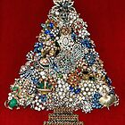 Vintage Jewelry Christmas Tree by Karol Franks