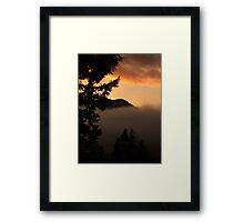 Vancouver Island BC ..  Framed Print