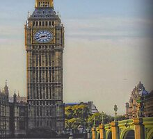 Houses of Parliament & Big Ben by AngelEowyn