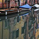 Reflection in Cannaregio, Venice by Hilda Rytteke