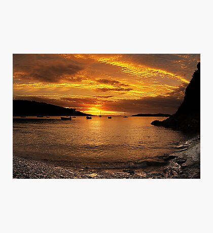 Sunrise from Squince Harbour Photographic Print