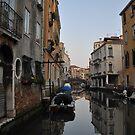 Venetian Canal, Cannaregio, Venice by Hilda Rytteke