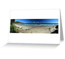 Wategos Beach - Byron Bay NSW Greeting Card