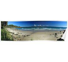 Wategos Beach - Byron Bay NSW Poster