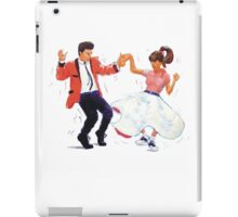 Classic Rock and Roll Jive Dancers iPad Case/Skin