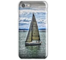 Yacht on Waterscape iPhone Case/Skin