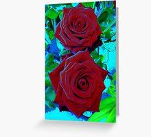 Icey Rose Greeting Card