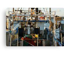 NEWCASTLE FISHING BOAT Canvas Print