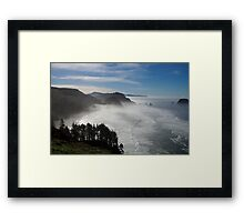 marine layer Framed Print