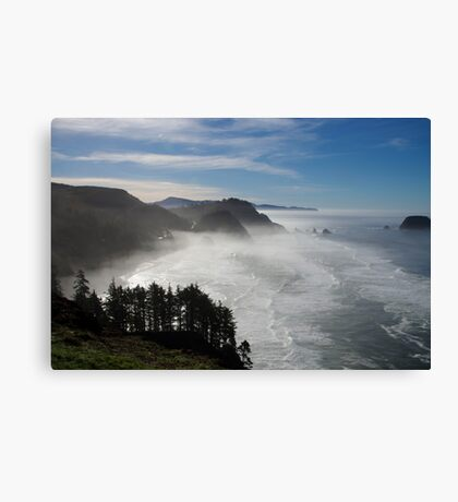 marine layer Canvas Print