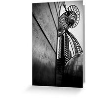 Docklands Sculpture Greeting Card