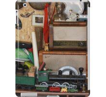 vintage items  at flea market iPad Case/Skin