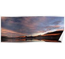 Loch Tulla Sunrise 1 Poster