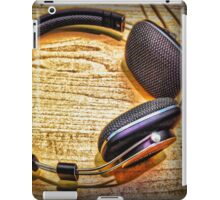 Headphones II iPad Case/Skin