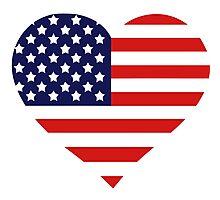 American Heart Photographic Print