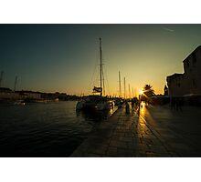 Trogir Sunset  Photographic Print