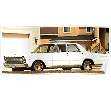 Ford Galaxie 500 Poster