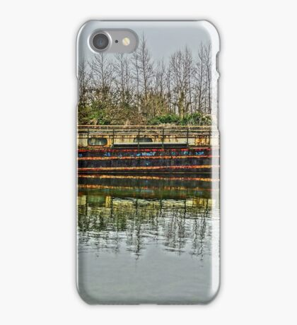 Barge HDR iPhone Case/Skin