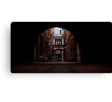 Market Lane Canvas Print