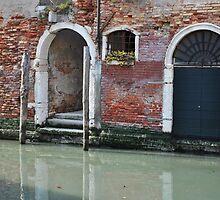 Venetian Doorway by Hilda Rytteke