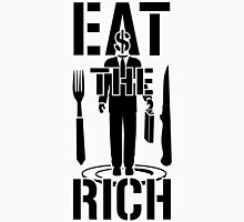 EAT THE RICH - on Light Unisex T-Shirt