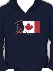 Canada Hockey Team T-Shirt & Sticker T-Shirt