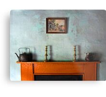 Antique Mantelpiece Still Life Metal Print