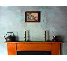 Antique Mantelpiece Still Life Photographic Print