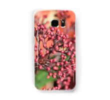 plants in the garden in winter Samsung Galaxy Case/Skin