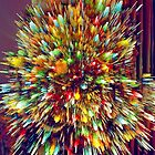 Lighted Christmas Tree (3) - Digitally Altered by SteveOhlsen