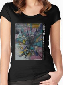 Beyond the Mist. (illustration)  Women's Fitted Scoop T-Shirt