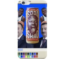 New and improved Shaq™ Soda™ iPhone Case/Skin