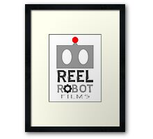 Reel Robot Films color logo Framed Print