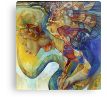 rainbow harpy Metal Print