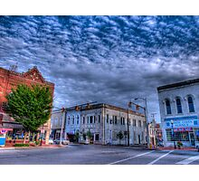 Downtown Shelbyville Tennessee Photographic Print