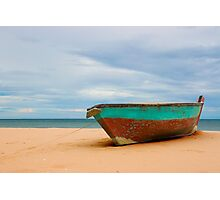 The Old Boat at Ban Krut Beach Photographic Print