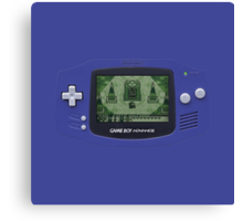 Classic Gameboy Canvas Print