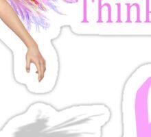 Think PInk! Sticker