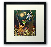 The Sun & Moon: Korean Folk Tale Framed Print
