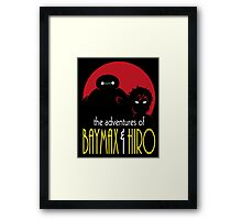 The Adventures of Two Heroes Framed Print