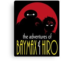 The Adventures of Two Heroes Canvas Print