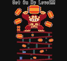 GET ON MY LEVEL! Womens Fitted T-Shirt