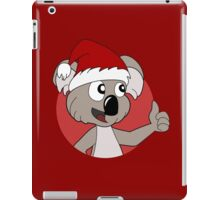 Cute Christmas koala cartoon iPad Case/Skin