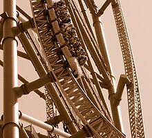 Kingda Ka - Free Fall by Paul Gitto