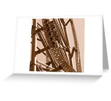 Kingda Ka - Free Fall Greeting Card