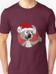 Cute Christmas koala cartoon Unisex T-Shirt