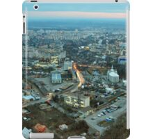 Panorama from Vinnytsya TV tower 2 iPad Case/Skin