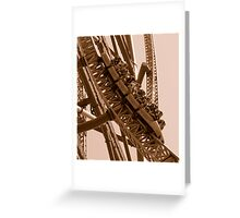 Kingda Ka - What does 128 MPH look like? Greeting Card